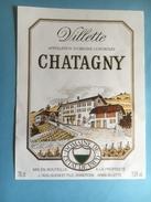 1199 -  Suisse Vaud Villette Chatagny Fomaine De L'Etat De Vaud - Etiquettes