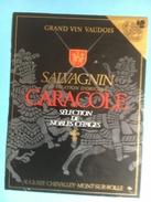 1201 -  Suisse Vaud Salvagnin Résidence & Caracole 2 étiquettes - Etiquettes
