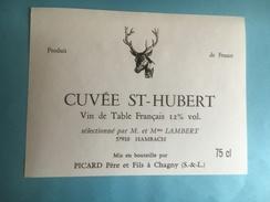 1056 -  Cuvée St-Hubert Vin De Table - Hunting