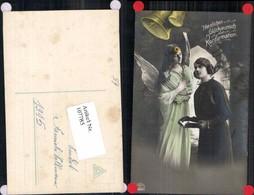 107785,Konfirmation Mädchen Engel Bibel Glocke Kirche - Engel