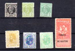 Roi Charles 1er, Entre 57 Et 235A (** - * - Sg), Cote 27,50 €, - 1858-1880 Fürstentum Moldau