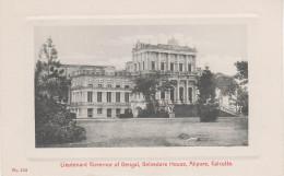 Passepartout AK Calcutta Kalkutta Kolkata Lieutenant Governor Bengal Belvedere House Alipore India Asia Asie Indie - India