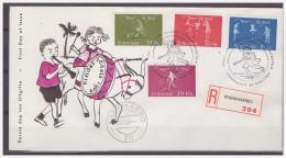 Surinam / Suriname 1964 FDC 32-2M Childcare Childsplay - Suriname ... - 1975