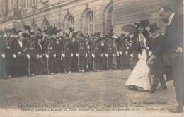 78 - VERSAILLES - Les Journées Italiennes - Visite Du Parc, Monsieur Mollard à La Sortie Du Palais Prévient ..... - Versailles