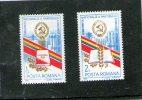 1982 -  Conference Du Parti Communiste Mi 3913/3914 Et Yv 3412/3413 MNH - Ungebraucht