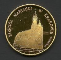 Poland, Souvenir Jeton, Krakow, St. Mary's Basilica - Tokens & Medals
