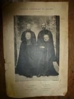 1925 Mission Paroissiale De Saulieu : Photos De (R.P. De Jamblinne, Chanoine Laboureau, Abbé Monnet , R.P. Charpenel) - Vieux Papiers