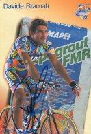 4514 CP Cyclisme Davide Bramati   Dédicacée - Cyclisme