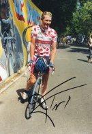 4521  Photo  Cyclisme  Frédéric Finot   Dédicacée - Radsport