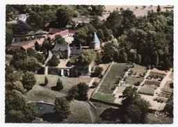 WIERRE AU BOIS--1967--Vue Aérienne-Le Chateau-   ,cpsm 15 X 10  N° 17129A   éd   Combier........pas Très Courante - Frankrijk
