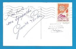 (A234) Signature / Dédicace / Autographe Original De Ginette Leclerc - Actrice - Autographes
