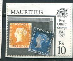 Maurice 1997 - YT 888 (o) Sur Fragment - Maurice (1968-...)