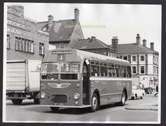 Lincoln Real Bus Photograph 1973 Bristol Bus - Transportation