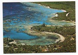 NOUVELLE CALEDONIE--Ile Loyauté--MARE  --Vue Aérienne--La Côte Cpm N° 19 B  éd Hachette Calédonie - Nieuw-Caledonië