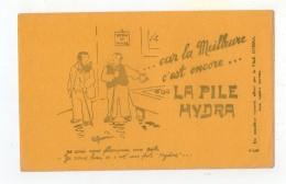 Juil16    75614       Buvard La Pile Hydra - Accumulators