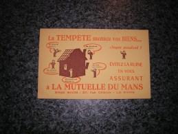 PAPIER BUVARD La Mutuelle Du Mans Assurance Le Mans France Assureur  Publicité Publicitaire - Banque & Assurance
