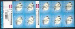 Belgium**Cabbage White BUTTERFLY-PIERIS BRASSICA-Booklet10vals-Mariposas-Papillon Pieride-Koolwitje Vlinder-2012-MNH - Belgium