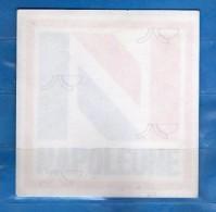 Adesivo Pubblicitario -  NAPOLEONE - Da Interno.  Cm. 9,5 X  9,5.    Vedi Descrizione - Adesivi
