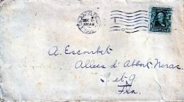 Lettre Des Etats-unis Pour La France (1905)