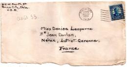 Lettre Des Etats-unis Pour La France (1933)