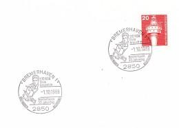 Allemagne-Bremerhaven 1-1/10/1988-1..1958-ELVIS PRESLEY In Bremerhaven-30 Jahrestag - Cinema
