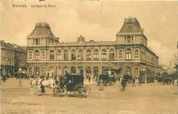 BRUXELLES - La Gare Du Nord - Transport (rail) - Stations