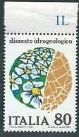Italia 1981; Dissesto Idrogeologico. Serie Completa Di Bordo Superiore. - 6. 1946-.. Republic