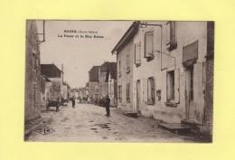 Soing - La Poste Et La Rue Basse - Francia