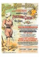 Carte Postale. Reproduction Affiche De La Belle époque. Programme Général Des Fêtes, Malo-les-Bains, Saison De 1893. - Malo Les Bains