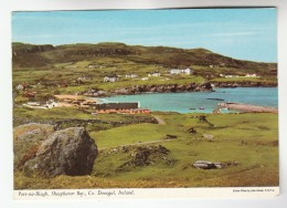 1971 IRELAND  Stamps COVER Postcard Port Na Blagh SHEEPHAVEN BAY - Covers & Documents