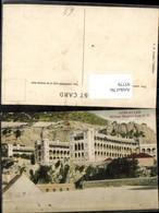 93779,Gibraltar Military Hospital Detailansicht Spanien - Gibraltar
