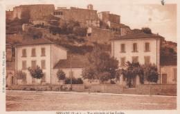 SIMIANE - ALPES DE HAUTE-PROVENCE  -  (04)  - CPA LES ECOLES - PEU COURANTE CPA DE 1931. - Other Municipalities