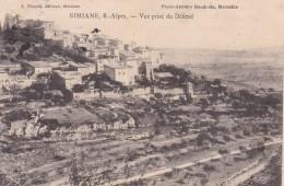 SIMIANE - ALPES DE HAUTE-PROVENCE  -  (04)  -  CPA DE 1913. - Other Municipalities