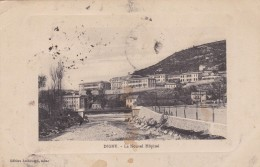 DIGNE - ALPES DE HAUTE-PROVENCE  -  (04)  -  CPA GAUFFREE DE 1915. - Digne
