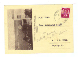 "Jugoslawien, 1939, Bildpostkarte (Novi Vinodol; Villa ""Nada""), Frankiert Mit Mi.306 (13710E) - Jugoslawien"