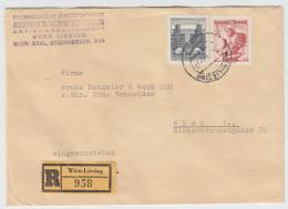 Austria Registered Letter Cover Travelled 196? B160711 - 1945-.... 2nd Republic