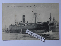 DUNKERQUE.Cargo ANGLO AFRICAN.Nitrate Producers Steamship Co.(Clichés Recto-verso) - Commerce