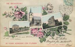 59 - NORD - Beaufort - Je Vous Adresse Ces Fleurs - Francia