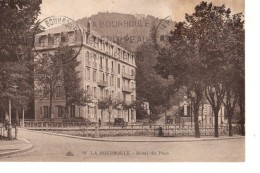 CPA (63), La BOURBOULE, Hôtel Du Parc, écrite, Non Timbréee, De 1932, Tache Coté Droite Haut - La Bourboule
