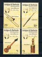 Antigua Und Barbuda 1986 Musik Mi.Nr. 858/61 Kpl. Satz ** - Antigua Und Barbuda (1981-...)