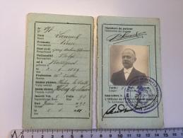 16N - Carte D'identité Commune Habay La Neuve Laurent Ne Rossignol - Documentos Históricos