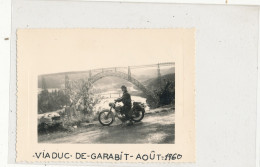 MOTO Viaduc De Garabit 1960 Photo - Motorcycle Sport