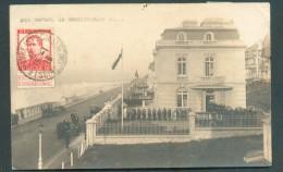 LE HAVRE Sainte ADRESSE - 10 Centimes Pellens Obl. Sc LE HAVRE (Ste-ADRESSE° Sur CP. (photo Nice Havrais Villa Du Gouver - Weltkrieg 1914-18