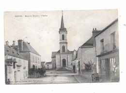 9191 - 44 - DERVAL : Route De Rennes, L'église - Derval
