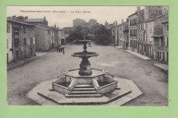 MONISTROL SUR LOIRE : La Place Néron. TBE. 2 Scans. Edition Laroche - Monistrol Sur Loire