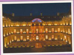 Voeux °° 2001 Sénat Mairie - Le Jardin Du Luxembourg - Verso Août 1944 - Encart Dédicacé GM 14x19 - New Year