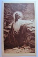 RELIGIONS - CHRISTIANISME - Jésus Au Mont Des Oliviers - Jésus
