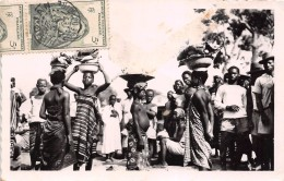 ¤¤  -   CÖTE D'IVOIRE   -  ABIDJAN   -  Le Marché    -  ¤¤ - Côte-d'Ivoire