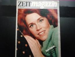 ZEIT Magazin No 22 Du 23 Mai 1980 - Jane Fonda - - Revues & Journaux