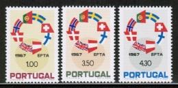 EUROPEAN IDEAS 1967 EFTA PT MI 1043-45 PORTUGAL - Idee Europee
